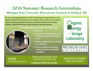 Summer internship flyer 2016 zb09