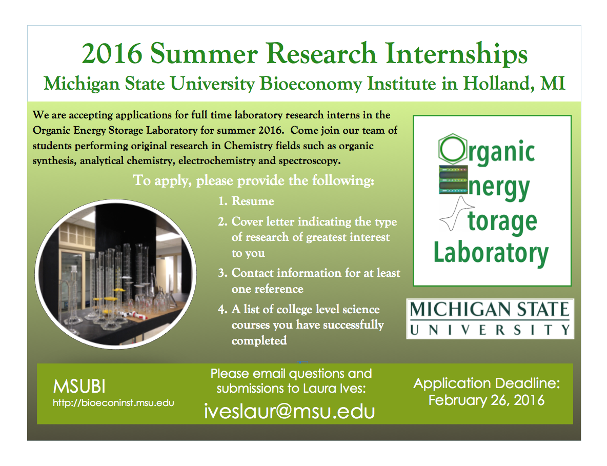 Job Oportunities | Organic Energy Storage Lab | Page 2